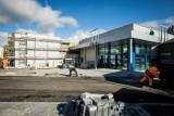 Budowa Lidla na Kapuściskach na finiszu. Znamy datę otwarcia sklepu! [zdjęcia]