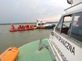 Akcja ratunkowa na Zalewie Wiślanym. Mężczyzna wypadł za burtę jachtu! Interweniowała Straż Graniczna