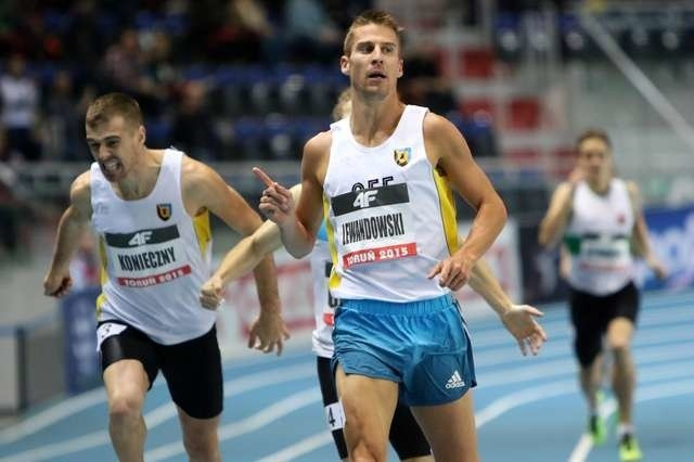 Halowe Mistrzostwa Polski Seniorów w lekkiej atletyceMarcin Lewandowski