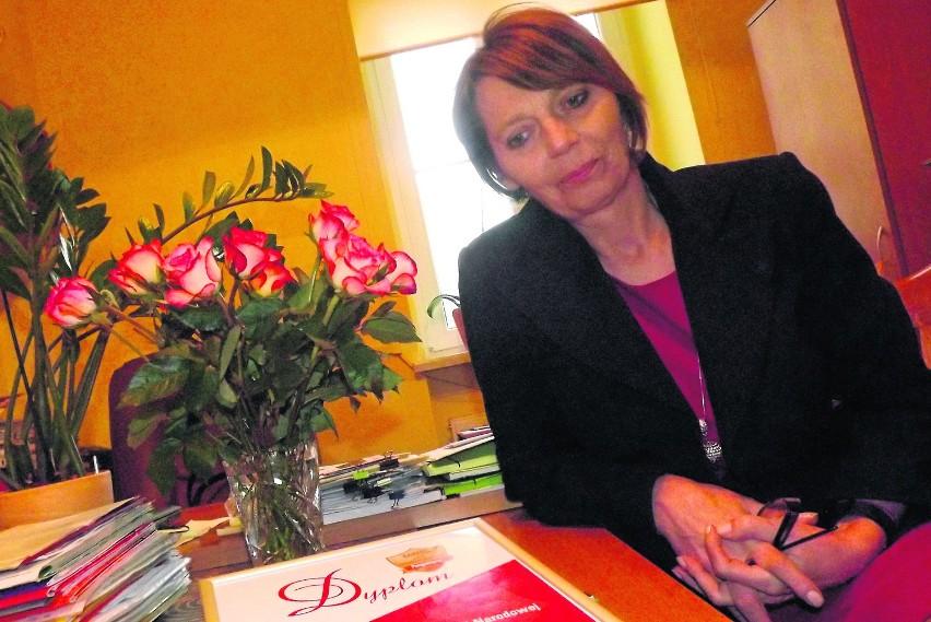 Małgorzata Staniszewska, dyrektor ZSZ w Brzegu Dolnym, z troską myśli o przyszłości swojej szkoły