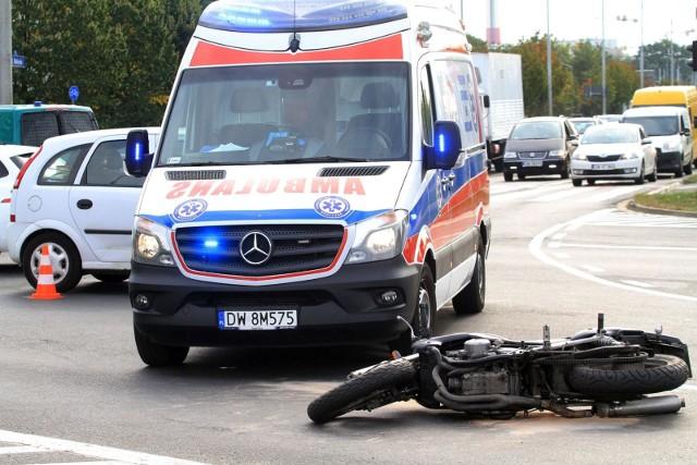 Śmiertelny wypadek motocyklisty koło Nieborowa około godziny 18.30 na DK 70 zderzyły się motocykl z samochodem.CZYTAJ WIĘCEJ >>>>zdjęcia ilustracyjne...