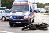 Śmiertelny wypadek motocyklisty w Nieborowie. Zderzenie motocyklisty na DK 70 w Arkadii koło Nieborowa