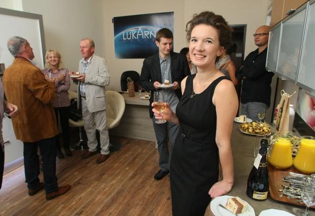 Najmłodsza bizneswoman w Świętokrzyskim chce podbić rynekW sobotę, 8 września, podczas otwarcia Lukarna Design,   urocza gospodyni częstowała przepysznymi słodkościami.