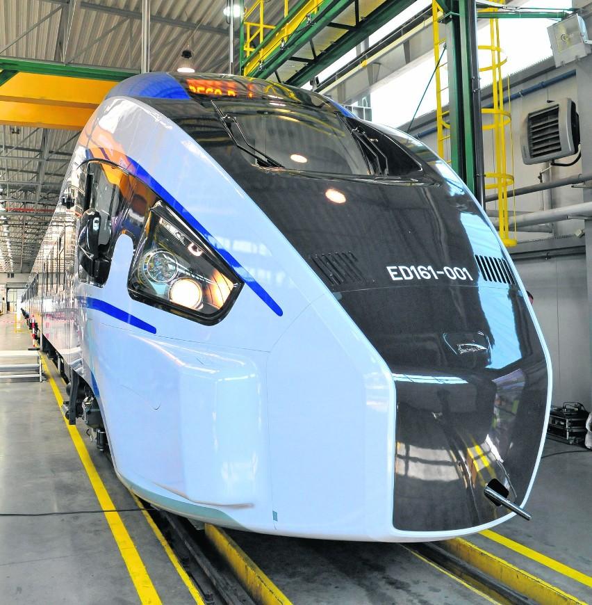 Do Warszawy pojedziemy supernowoczesnym pociągiem...