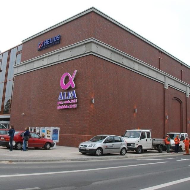 Galeria Alfa prawie gotowa na przyjęcie klientów. Prawdopodobnie w najbliższych dniach na ulicach Mickiewicza i Świętojańskiej tworzyć się będą korki