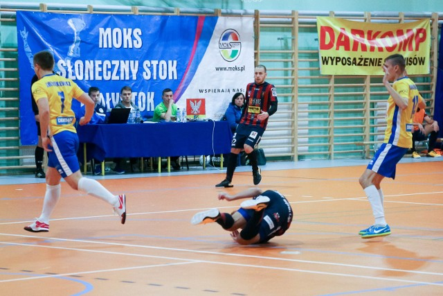 Mecz ekstraklasy futsalu MOKS Białystok - Pogoń 04 Szczecin