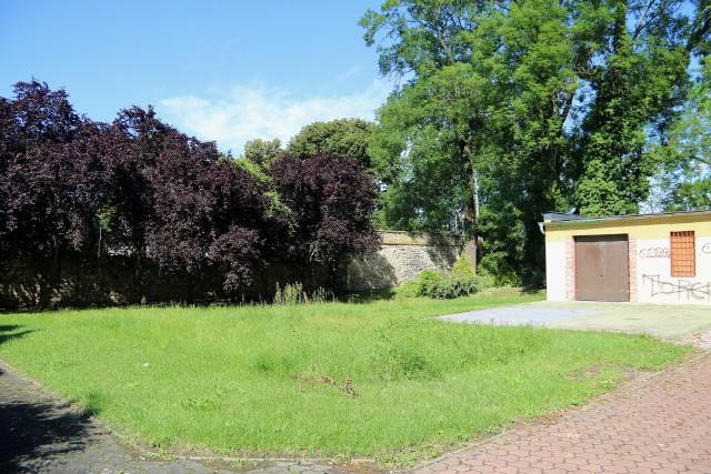 Chodzi o ten kawałek parku przy ul. Ligonia.