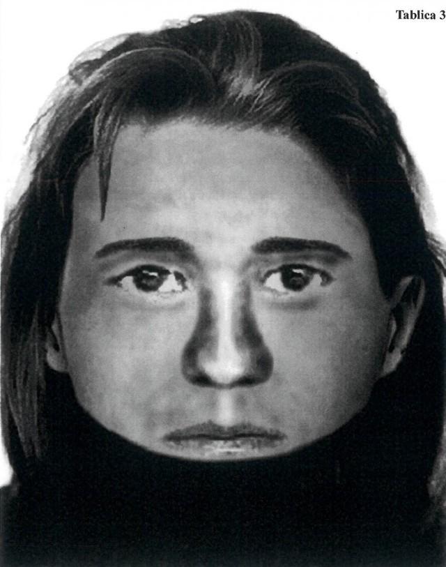 To portret kobiety, której czaszkę znaleziono na budowie Face2Face w Katowicach