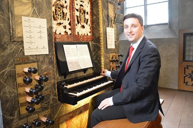 Największe utwory organowe wykona Michał Markuszewski