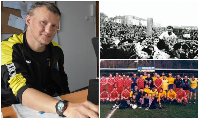 Roman Korba, od lat wertuje archiwa w poszukiwaniu wiadomości o drużynie Glinika Gorlice. Udało mu się zgromadzić pokaźną kolekcję archiwalnych zdjęć drużyny