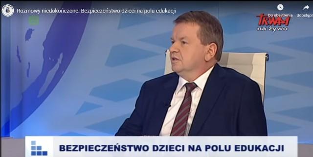 """Grzegorz Wierzchowski w programie """"Rozmowy niedokończone"""" emitowanym w Radiu Maryja oraz w Telewizji Trwam"""