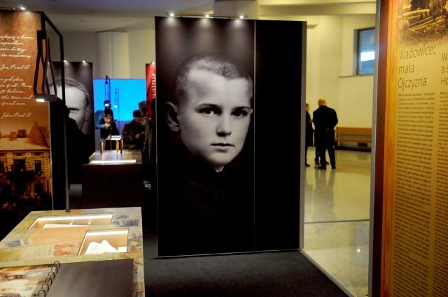 Portret Karola Wojtyły w Muzeum św. Jana Pawła II