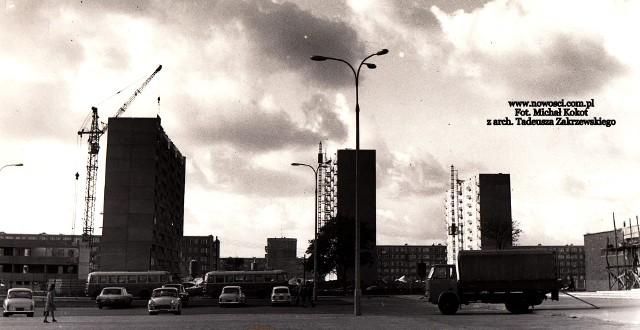 Osiedle Reja w 1973 roku.