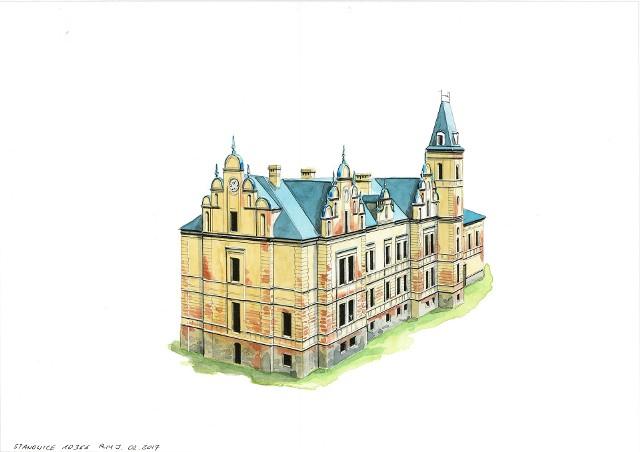 Lubuskie pałace. Stanowice