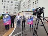 850 milionów euro dla zadłużonych szpitali powiatowych z Europejskiego Funduszu Odbudowy. Lewica w Sandomierzu mówiła, że to jej zasługa
