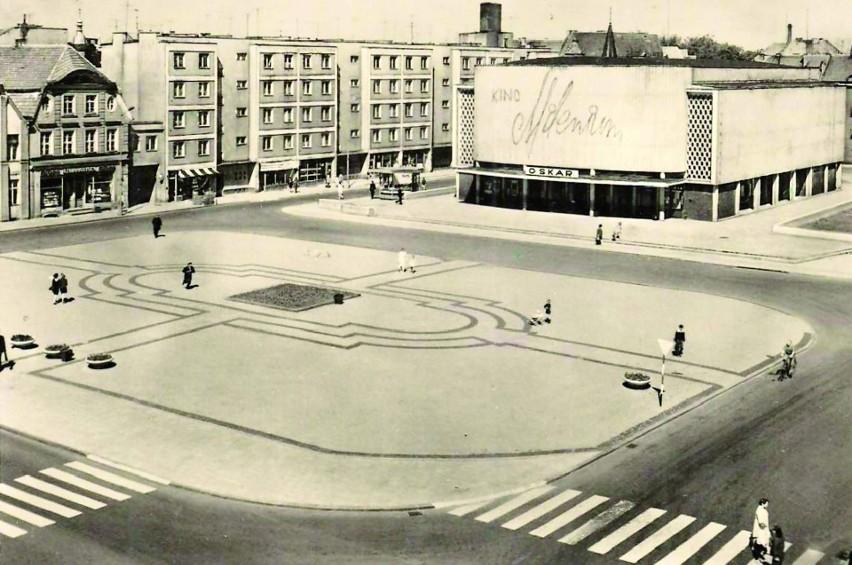 Lata 60. Ówczesny plac Armii Czerwonej z kinem Milenium,...