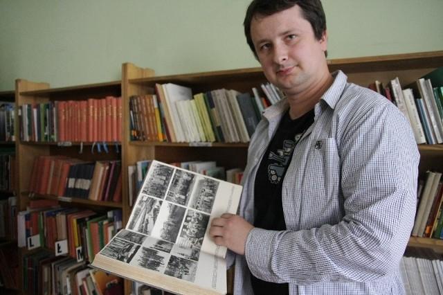 Taka pozycja może być ozdobą każdego księgozbioru – cieszy się Maciej Waltoś, szef biblioteki TPN w Przemyślu.
