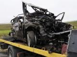 Śmiertelny wypadek na autostradzie! Alfa romeo szybowała w powietrzu [FILM, zdjęcia]