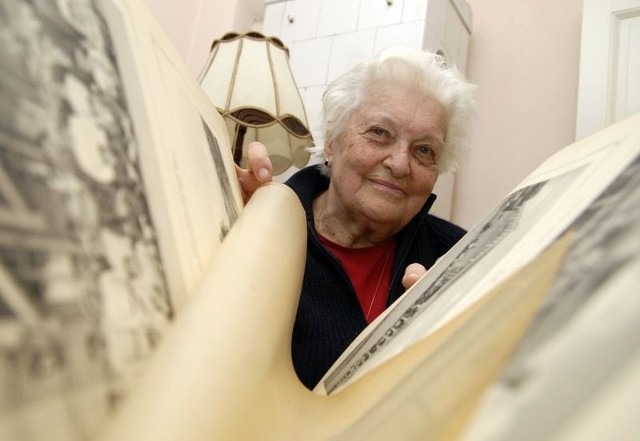 Jadwiga Pomierska rozpoczęła pracę nad książką.