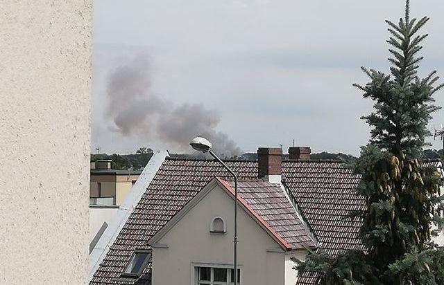 O pożarze poinformował nas jeden z Czytelników.