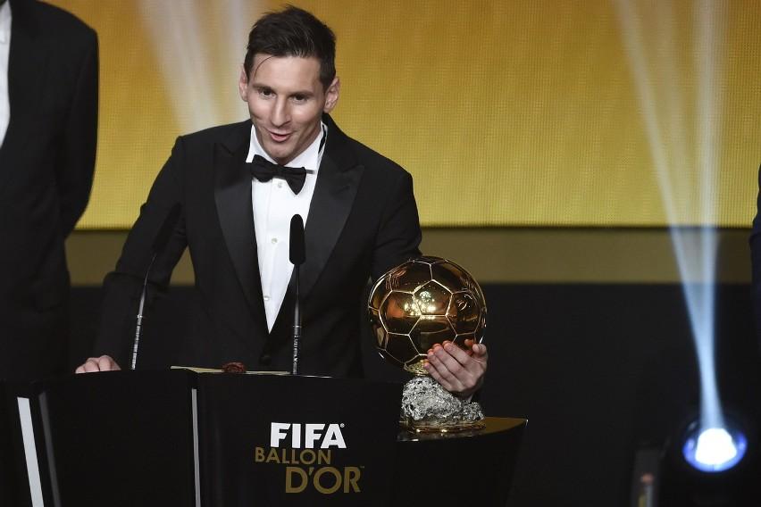 Messi zdobył Złotą Piłkę. Po raz piąty!