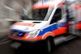 Wypadek na granicy Gdańska i Rębiechowa 10.12.2020. Samochód potrącił pieszego