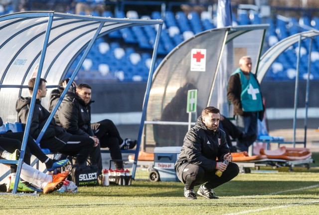 Trener Szymon Grabowski ogłosił ostatnio, że jego drużyna rozpoczyna etap walki o utrzymanie.