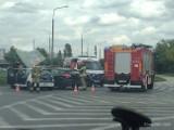 Wypadek na inowrocławskim Rąbinie. Jedna osoba w szpitalu