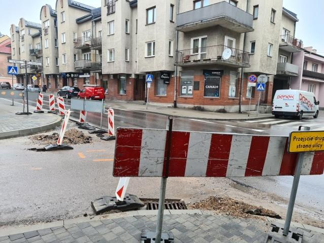 Remont ulicy Wesołej w Miechowie