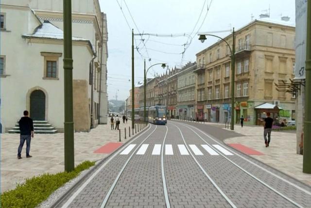 Kraków. W sobotę rozpocznie się przebudowa ulicy Krakowskiej ...