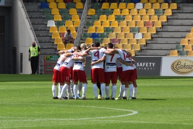Podbeskidzie nieznacznie przegrało z Wisłą Kraków w towarzyskim meczu rozegranym w sobotę w Bielsku-Białej