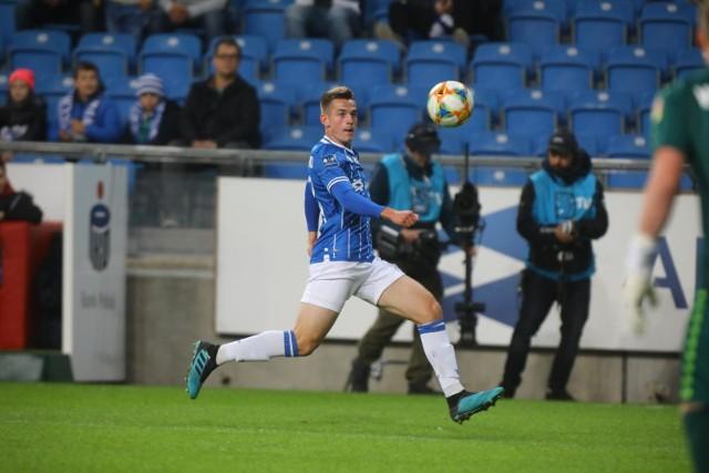 Jakub Kamiński ma dopiero niespełna 18 lat, a już odgrywa ważną rolę w zespole Lecha Poznań