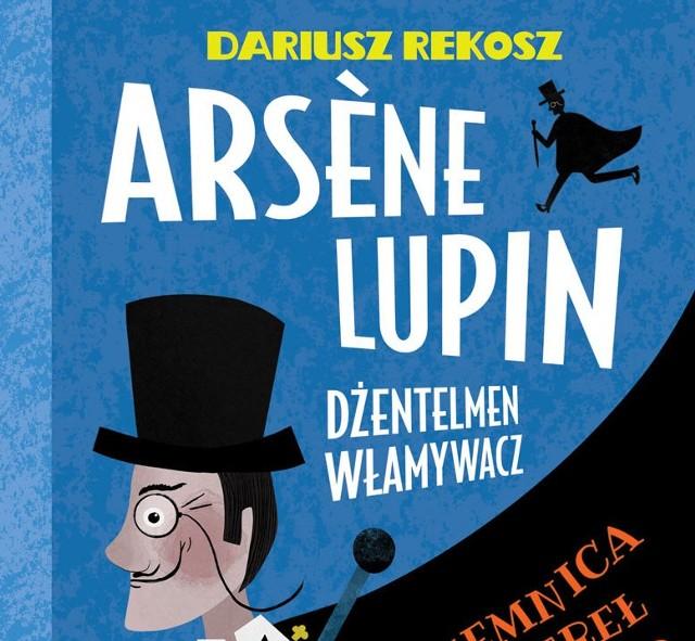 Tak wygląda okładka pierwszego tomu nowej serii wydawniczej autorstwa Dariusza Rekosza