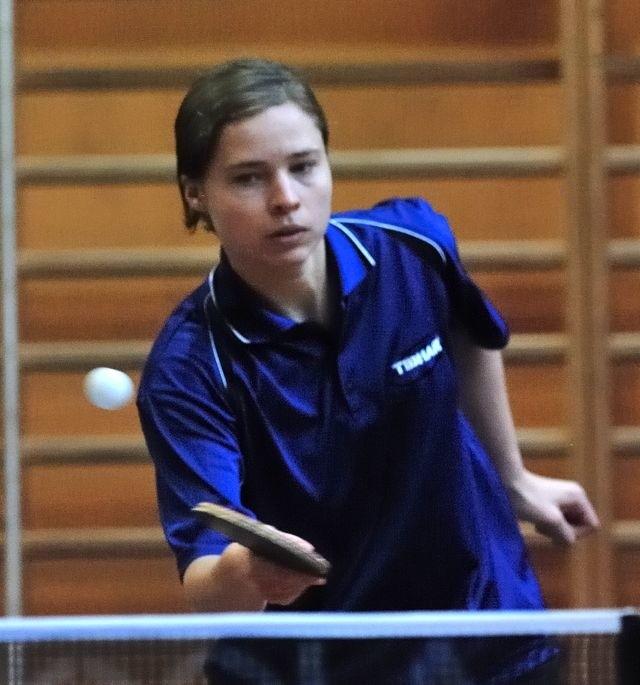 Daniela Gazicka zdobyła 2 punkty dla UKS Sucha.