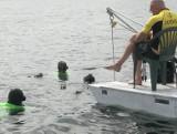 Freediving. Nurkowanie na jeziorze Hańcza w międzynarodowej obsadzie i z rekordami
