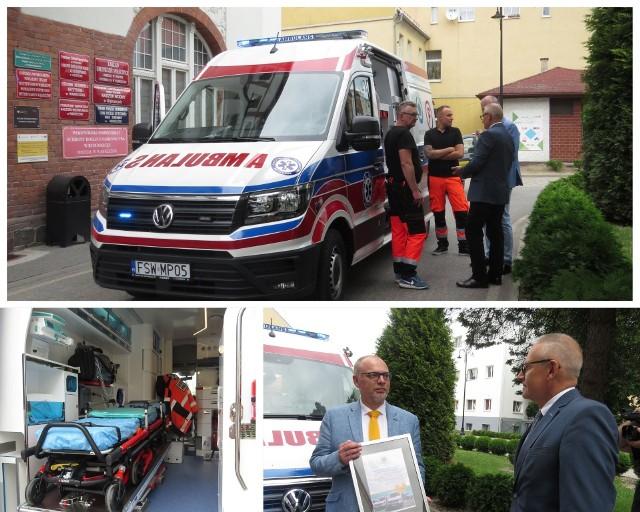 W piątek, 25 czerwca do Nowego Szpitala w Wąbrzeźnie dotarła nowa karetka, która do pacjentów będzie jeździć od poniedziałku, 28 czerwca