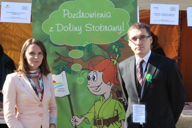 LGD Dolina Stobrawy: Tomasz Paluch i Joanna Leśnierowska.