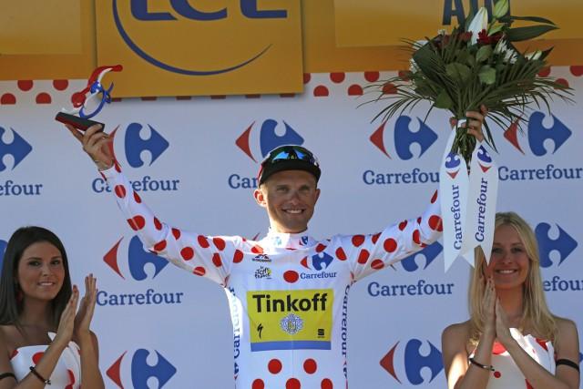 Rafał Majka umocnił się w klasyfikacji górskiej Tour de France