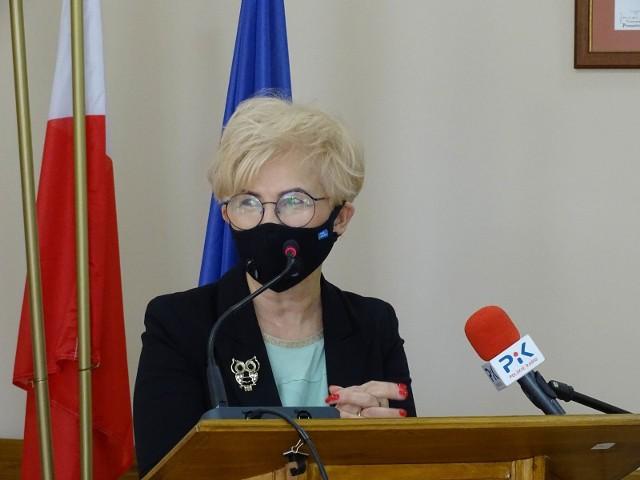 Artur Mikiewicz: - Dziękuję pani wiceminister Michałek za to, że do nas przyjechała i poinformowała o ustawie, która miała wkrótce wejść w życie. Dzięki niej wstrzymaliśmy się z powołaniem ChSIM, napisaliśmy wniosek i dostaliśmy 3 mln złotych