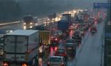 Wypadek na autostradzie A4. Zderzenie 3 samochodów w okolicach Wrocławia