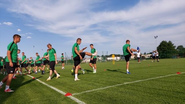 GKS Bełchatów rozpoczął zajęcia. W piątek mecz z Legią