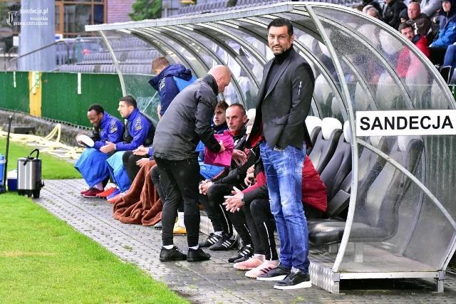 Trener Sandecji Dariusz Dudek chwali swoich zawodników