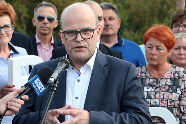Maciej Glamowski, prezydent Grudziądza wydał oświadczenie w sprawie targowiska hurtowego przy ul. Łyskowskiego w Grudziądzu