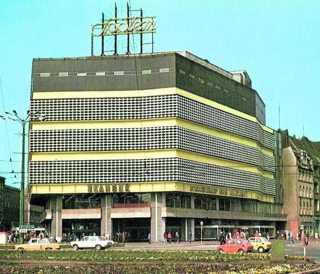 Tak wyglądał Skarbek w 1978 roku. Był wówczas jednym z najnowocześniejszych domów handlowych w Polsce