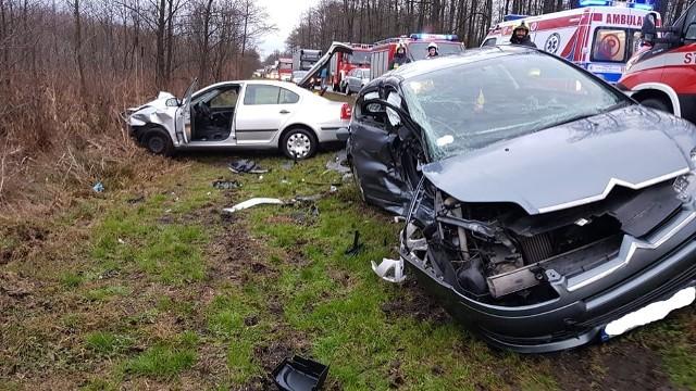 Wypadek w Sewerynowie, 10.02.2020