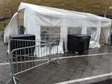 Wichura zniszczyła Centrum Testowe COVID-19 przy Stadionie Energa Gdańsk. Środowe (14.10.2020) badania są odwołane