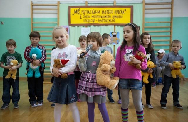 Dzień Misia w Szkole Podstawowej nr 43 w Białymstoku.