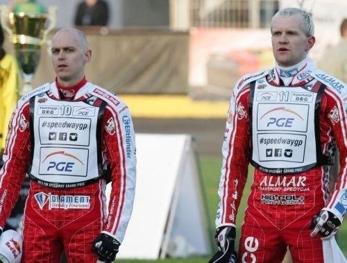 Jarosław Hampel i Krzysztof Kasprzak