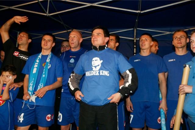 W 2012 roku Ruch Chorzów zdobył tytuł wicemistrza Polski  Zobacz kolejne zdjęcia. Przesuwaj zdjęcia w prawo - naciśnij strzałkę lub przycisk NASTĘPNE