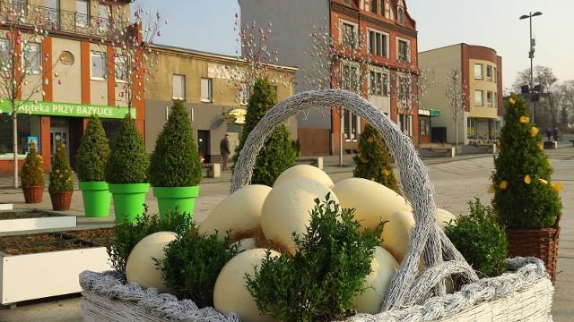 Rybnik gotowy na Wielkanoc. Piękne ozdoby świąteczne w centrum miasta zobacz na zdjęciach